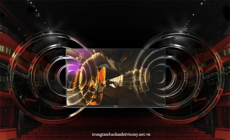 Công nghệ âm thanh trên smart tivi Sony 1