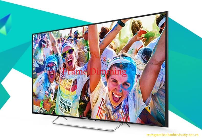 Công nghệ hình ảnh Frame Dimming trên Smart tivi Sony