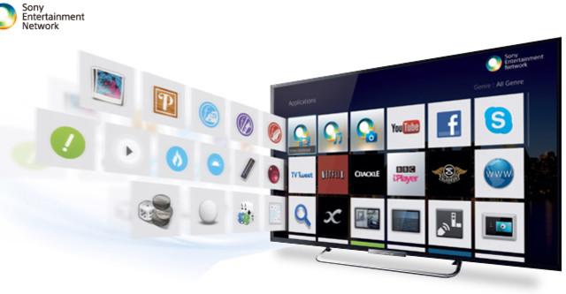 chú ý khi mua smart tivi Sony